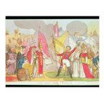 La guerra santa - Vision, dibujo animado satírico Postal