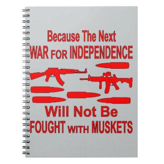 La guerra siguiente no será luchada con los note book