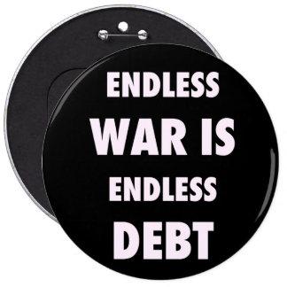 La guerra sin fin es botón sin fin de la deuda