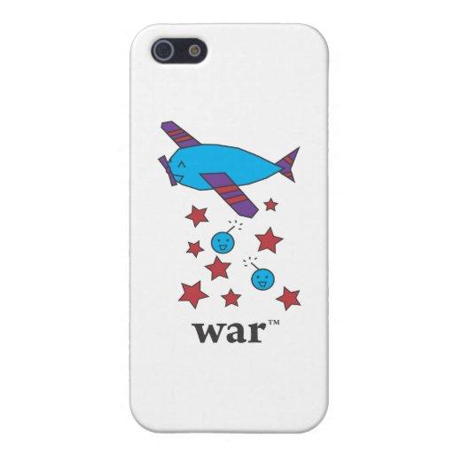 La guerra (TM) rayó el avión del bombardero iPhone 5 Cárcasa