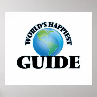 La guía más feliz del mundo póster
