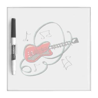 la guitarra abstracta observa la música red.png pizarras