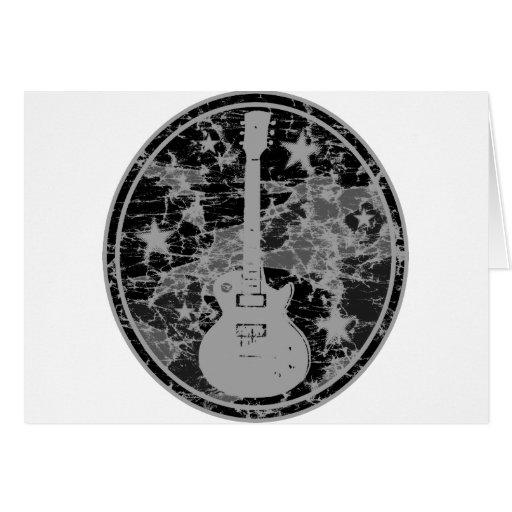La guitarra apenada protagoniza la oscuridad BW de Felicitacion