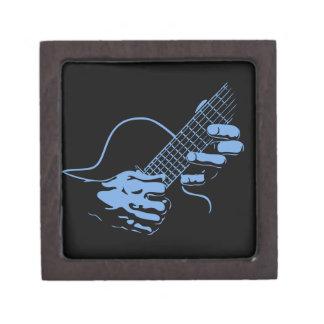 La guitarra da II - azul Cajas De Regalo De Calidad