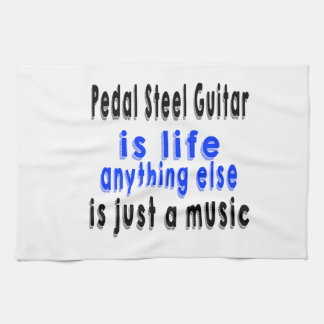 La guitarra de acero del pedal es vida que todo lo toalla de cocina