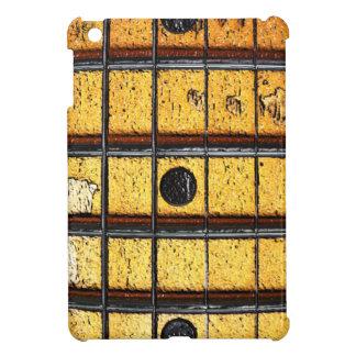 La guitarra del vintage se preocupa el mini caso d iPad mini coberturas