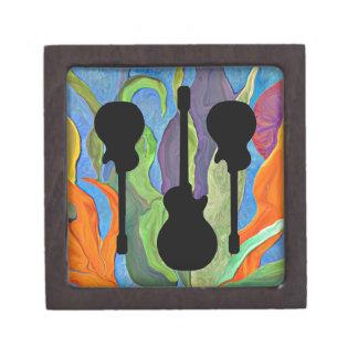 la guitarra escoge la caja de regalo caja de recuerdo de calidad