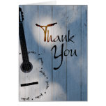 La guitarra le agradece observar tarjeta pequeña