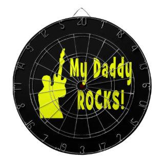 la guitarra oscila la roca eléctrica del papá del