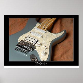 La guitarra póster