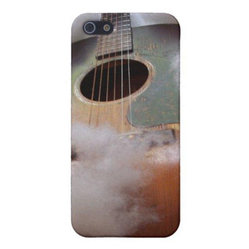 La guitarra soña el caso del iphone iPhone 5 protector