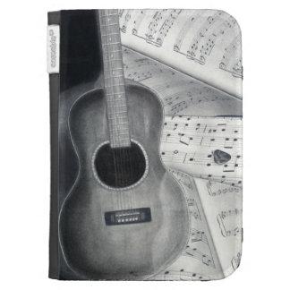 La guitarra y la partitura encienden la caja