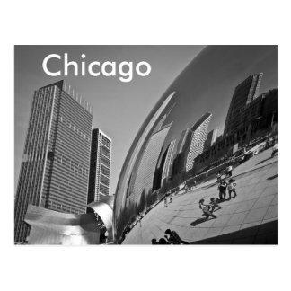 La haba Chicago Tarjetas Postales