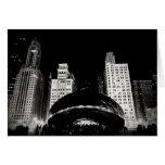 La haba de Chicago Tarjeta De Felicitación