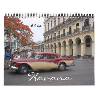La Habana 2014 Calendario