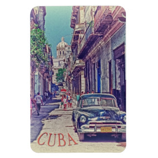La Habana Cuba Imán Rectangular