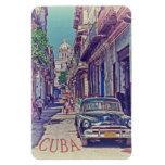 La Habana Cuba Imanes De Vinilo