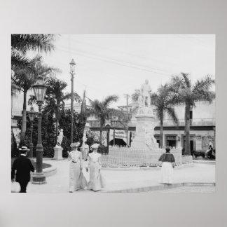 La Habana escultural: 1903 Póster