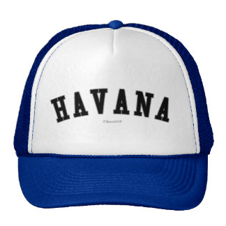 La Habana Gorros Bordados