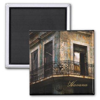 La Habana, imán viejo del balcón de la ciudad