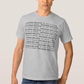 LA HABANA MOJITO el gusto de la camisa de la