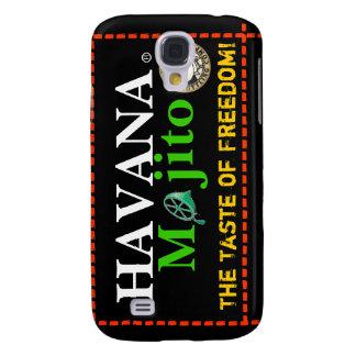 ¡LA HABANA MOJITO el gusto de la libertad! Funda Para Galaxy S4