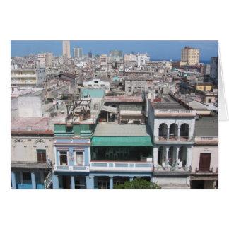 La Habana vieja Tarjeta De Felicitación