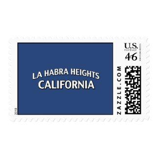 La Habra Heights California Stamp