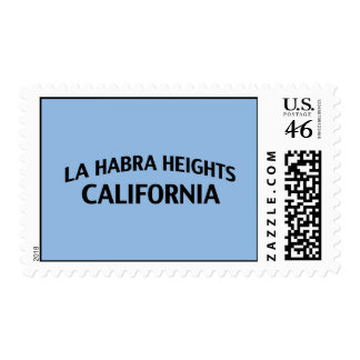 La Habra Heights California Postage Stamp