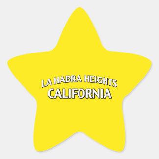 La Habra Heights California Star Sticker