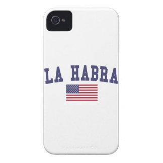 La Habra US Flag iPhone 4 Case
