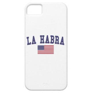 La Habra US Flag iPhone SE/5/5s Case
