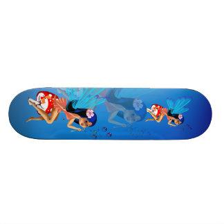 La hada burbujea monopatín patineta personalizada