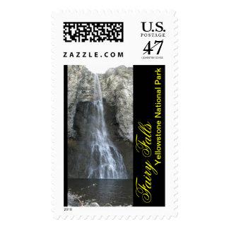 La hada cae en Yellowstone Timbre Postal