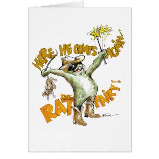 La hada de la rata tarjeta pequeña
