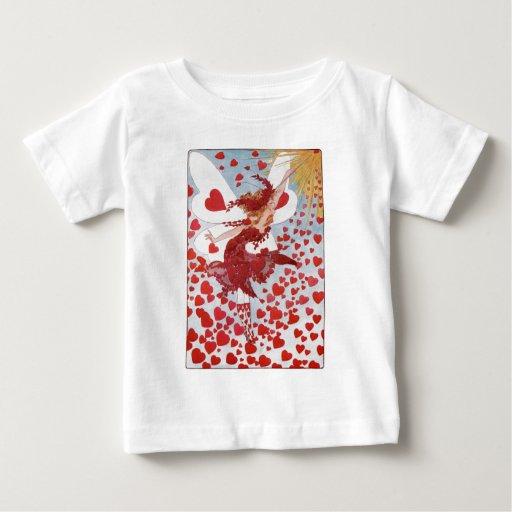 La hada de la tarjeta del día de San Valentín T-shirt
