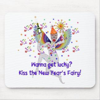 La hada del Año Nuevo Alfombrilla De Raton