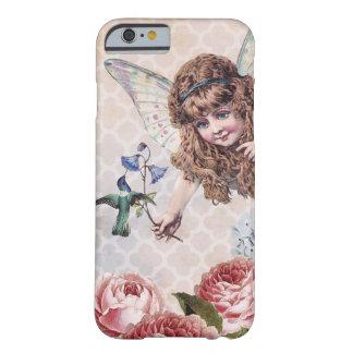 La hada dulce saluda el colibrí funda de iPhone 6 barely there