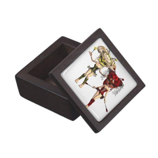 La hada fastidia la caja de regalo superior cajas de joyas de calidad