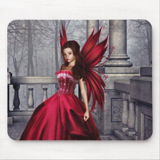 La hada roja Mousepad del encanto