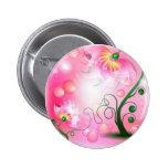 La hada rosada florece productos pins