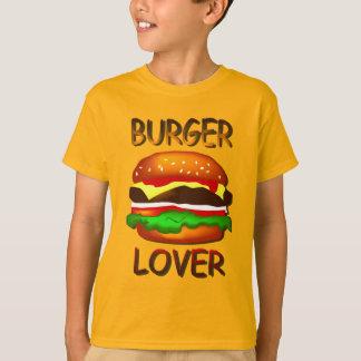 La hamburguesa del amante de la hamburguesa playera
