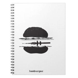 La hamburguesa libro de apuntes