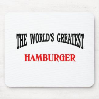 La hamburguesa más grande tapetes de ratones