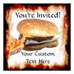La hamburguesa 'n fríe la invitación