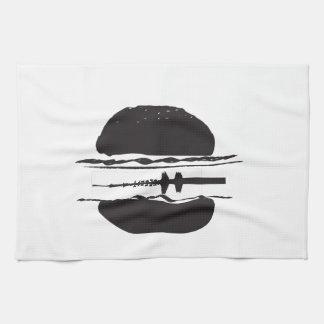 La hamburguesa toalla de cocina