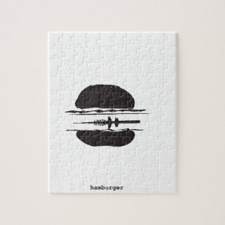 La hamburguesa rompecabezas