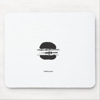 La hamburguesa tapete de raton