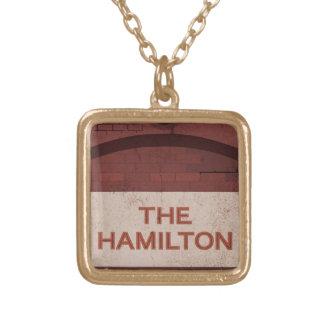 la Hamilton Collar Dorado
