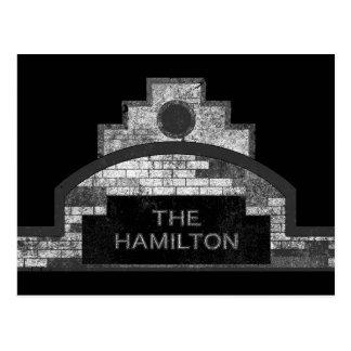 la Hamilton Tarjeta Postal